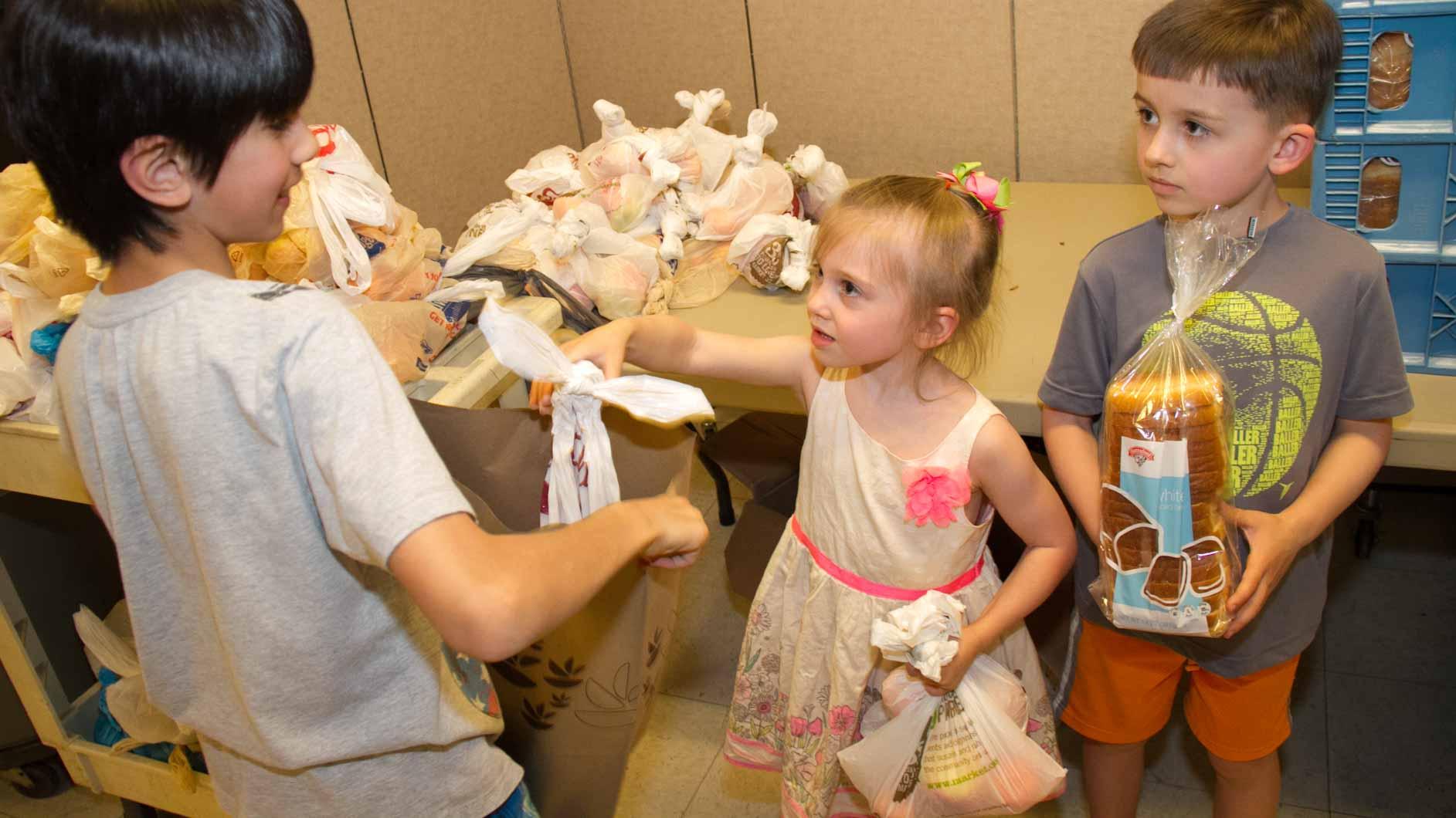 KIDS HELPING KIDS!